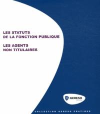 Les statuts de la fonction publique - Les agents non titulaires.pdf