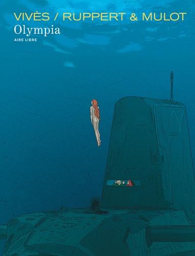 Florent Ruppert et Bastien Vivès - La grande Odalisque Tome 2 : Olympia.