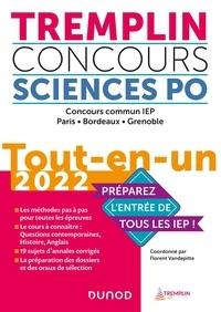 Florent Vandepitte et Pierre-Emmanuel Guigo - Tremplin Concours Sciences Po - Concours commun IEP, Paris, Bordeaux, Grenoble. Tout-en-un.