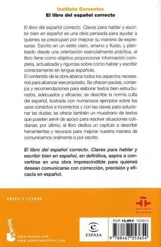 El libro del español correcto. Claves para hablar y escribir bien en español