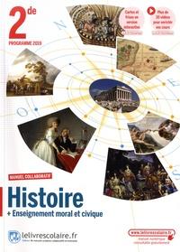 Florian Besson - Histoire + Enseignement moral et civique 2de - Manuel collaboratif.