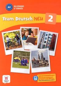 Florian Boullot et Aurélie Déchalotte - Allemand 2e année A2 Team Deutsch Neu 2.