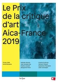 Florian Gaité et Sonia Recasens - Le prix de la critique d'art Aica France 2019.