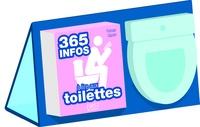 Florian Gazan - 365 infos à lire aux toilettes - Contient un chevalet et un pense-bêtes.