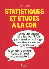 Pdf de téléchargement de livres Statistiques et études à la con