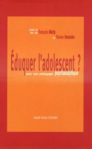 Histoiresdenlire.be Eduquer l'adolescent ? - Pour une pédagogie psychanalytique Image