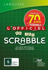 Florian Lévy - L'officiel du jeu Scrabble - Avec 1 carnet de scores offert.