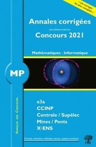 Florian Metzger et William Aufort - Annales des concours 2021 - MP mathématiques et informatique.