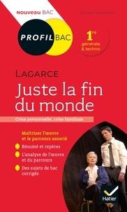 Florian Pennanech - Profil - Lagarce, Juste la fin du monde - toutes les clés d'analyse pour le bac (programme de français 1re 2020-2021).