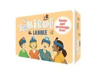 Florian Thouret - Tekitoi - La Bible. Devine quel personnage tu es ! Avec 50 cartes, 6 bandeaux à mettre autour de la tête, 50 jetons à découper, 1 sablier et 1 règle du jeu.