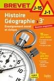 Floriane Derambure et Pierre Méheust - Histoire Géographie, Enseignement moral et civique 3e.