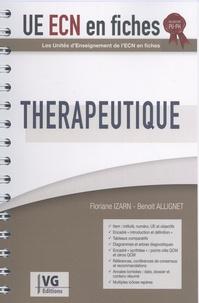 Floriane Izarn et Benoît Allignet - Thérapeutique.