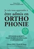 Floriane Olivier - Je vais vous apprendre à être admis en orthophonie.