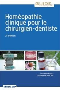 Florine Boukhobza - Homéopathie clinique pour le chirurgien dentiste.