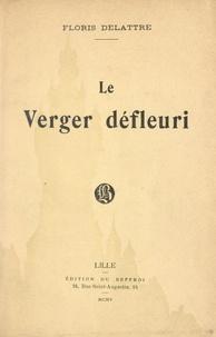 Floris Delattre - Le verger défleuri.