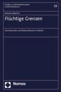 Flüchtige Grenzen - Hermeneutik und Diskurstheorie im Recht.