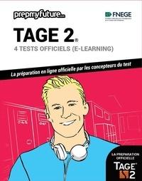 FNEGE - Tage 2® - 4 tests officiels (e-learning). Contient 1 clé d'activation.