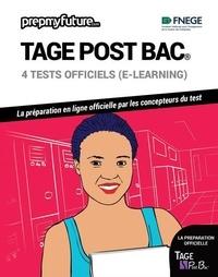 FNEGE - Tage post bac® - 4 tests officiels (e-learning). Contient 1 clé d'activation.