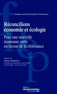 FNEP - Réconcilions économie et écologie - Pour une nouvelle économie verte en faveur de la croissance.