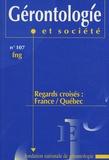 Françoise Forette - Gérontologie et société N° 107, Décembre 200 : Regards croisés : France/Québec.