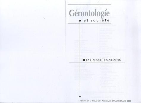 Geneviève Arfeux-Vaucher et Claudine Attias-Donfut - Gérontologie et société N° 89, Juin 1999 : La galaxie des aidants.