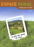 André Thévenot - Espace rural N° hors-série Mai 20 : Le prix des terres en 2006.