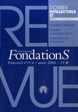 Alexandre Courban et Bernard Frederick - Nouvelles Fondations N° 3/7, année 2006 : Intellectuels et communistes.