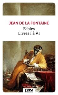 Fontaine jean de La - Fables - Livres I à VI.