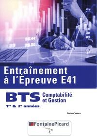 Fontaine Picard - Entraînement à l'épreuve E41 BTS comptabilité et gestion 1er et 2e année.