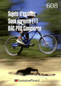 Openwetlab.it Bac Pro Commerce Sujets d'examen - Sous épreuve E11 Image