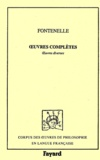 Fontenelle - Oeuvres complètes. - Tome 9, Oeuvres diverses.