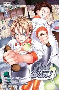 Yuki Morisaki - Food wars ! T05.
