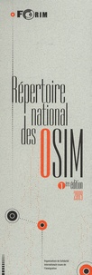 FORIM - Répertoire national des organisations de solidarité internationale issues de l'immigration (OSIM).