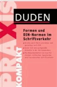 Formen und DIN-Normen im Schriftverkehr.