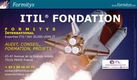 Formitys Formitys - ITIL(r) Foundation V3 Support de cours pour la préparation à la certification - 450 pages.