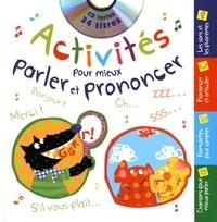 Formulette production - Activités pour mieux parler et prononcer. 1 CD audio
