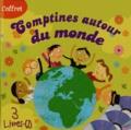 Formulette production - Comptines autour du monde - Coffret 3 volumes. 3 CD audio
