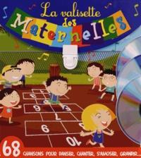 Formulette production - La valisette des maternelles - Coffret 2 volumes : Les p'tits curieux de maternelle ; Chante en maternelle. 3 CD audio