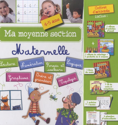 Formulette production - Ma moyenne section maternelle - 4-5 ans.