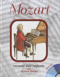 Formulette production - Mozart raconté aux enfants. 1 CD audio