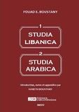 Fouad Boustany - Studia Libanica - Studia Arabica.