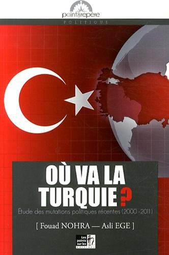 Fouad Nohra et Asli Ege - Où va la Turquie ? - Etude des mutations politiques récentes (2000-2011).
