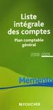 Foucher - Liste intégrale des comptes - Plan comptable général.