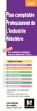 Foucher - Plan comptable professionnel de l'industrie hôtelière - Liste intégrale des comptes à jour au 1er janvier 2019.
