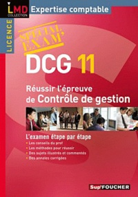 Foucher et Alain Burlaud - Réussir l'épreuve contrôle de gestion DCG 11.