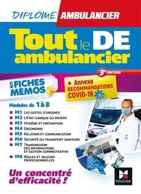 Foucher - Tout le DE Ambulancier en fiches mémos.