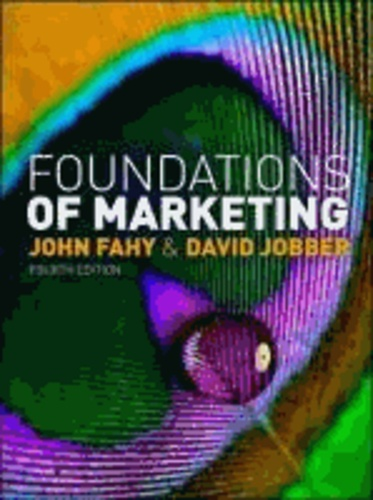 Foundations of Marketing.
