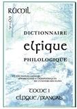 Fournier de brescia francois De - Dictionnaire Elfique Philologique.