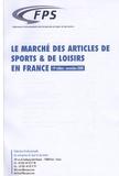 FPS - Le marché des articles de sport & de loisirs en France.