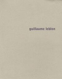 Frac de Bourgogne - Guillaume Leblon.